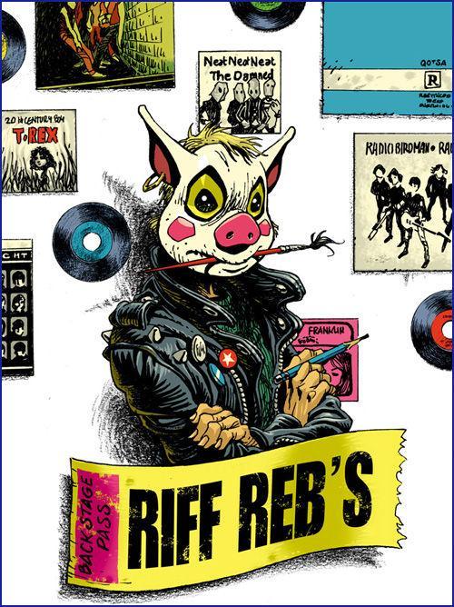 bd dessinateur exposition riff rebs rouen